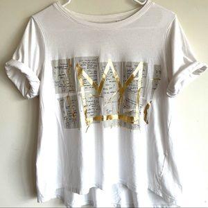 👑 [Uniqlo] Art Tee Featuring Jean-Michel Basquiat